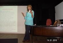14.1.2010 Fobiler konulu seminer. Bakırköy Halk Eğitim Merkezi