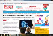 BAKICI KADIN SENDROMU Posta Gazetesi 1 Ekim 2010