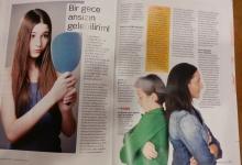 Erken Ergenlik  Working Mother Dergisi Nisan-Mayıs 2014