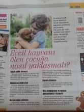 Evcil Hayvanı Ölen Çocuğa Nasıl Yaklaşılmalı?.. Hürriyet Gazetesi Cumartesi eki 25.07.2015