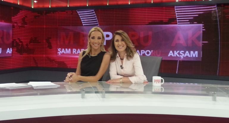 HaberTürk TV Balçiçek İlter ile Akşam Raporu