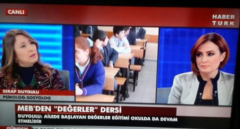 Habertürk TV Didem Aslan Yılmaz ile Değerler Eğitimi