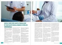 Sağlık Ekibi İçin Hasta Psikolojisi   Sağlık ve İnsan  Dergisi 38.sayı