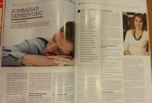 Sonbahar Depresyonu.. Aile Dostu Dergisi Sonbahar 2014 sayısı
