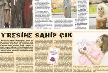Stresine Sahip Çık Kitabı 22.03.2014 Önce Vatan Gazetesindeki Röportaj