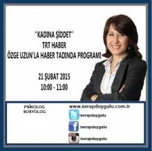 TRT Haber Haber Tadında Programı